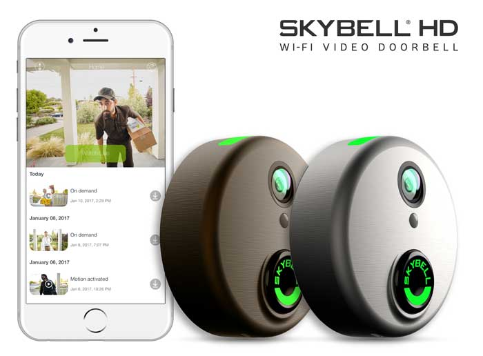 SkyBell-smart-home-gainesville-fl