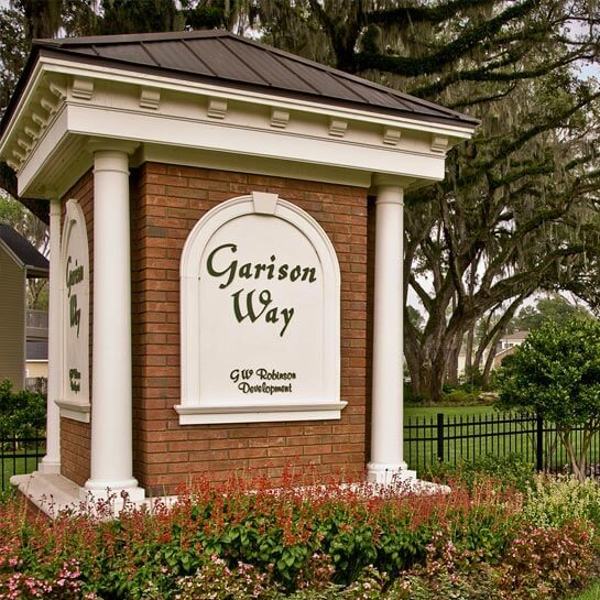 GW Robinson Homes communities in Gainesville